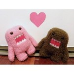 Domo Kun and Pink Dolls