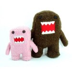 Domo and Pink