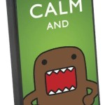 keep calm domo iphone case